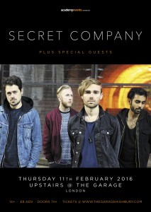 Secret Company Live Show London